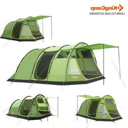 Kingcamp Tunnel Tent 6 person Family Camping Outdoor 2 Roomy