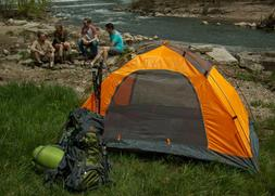 Two Person Lightweight Tent with Aluminum poles for Camping