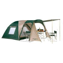 CAPTAIN STAG Two Room Dome UV Tent 3-4 People Outdoor Waterp