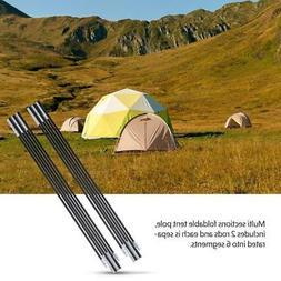 Ultralight Fibreglass Tent Poles Camping Travel Replacement