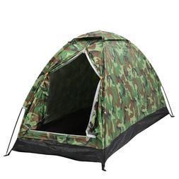 US Outdoor 1 Person 4 Season Camping Hiking Waterproof Foldi