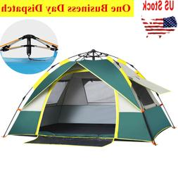 Waterproof 2-3 Person Instant Self Pop Up Automatic Family C