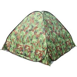 Waterproof 3-4 People Automatic Instant Tent Camouflge Campi