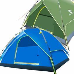 Waterproof Auto Instant 3-4 Person Double layer Hiking Tent
