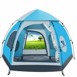 Waterproof Automatic 5-6 People Outdoor Instant Popup Tent C