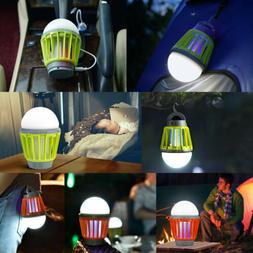 Waterproof Camping Lantern Bug Zapper Mosquito Killer Outdoo