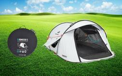 Quechua Waterproof Pop Up Camping Tent 2 Seconds Easy II FRE